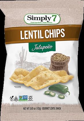 Jalapeño Lentil Chips