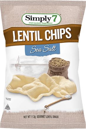 Sea Salt Lentil Chips